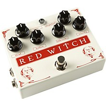 Red Witch Medusa Chorus and Tremolo Guitar Effects Pedal