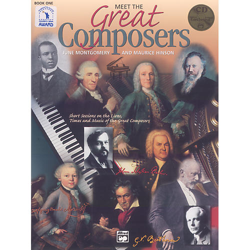 Alfred Meet the Great Composers: Classroom Kit Book 1 Book & CD