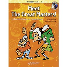 Curnow Music Meet the Great Masters! De Haske Play-Along Book Series Softcover with CD