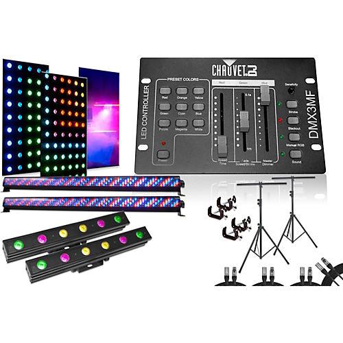Chauvet Mega Bar, Pix Mini, DMX3MF 4 Light System