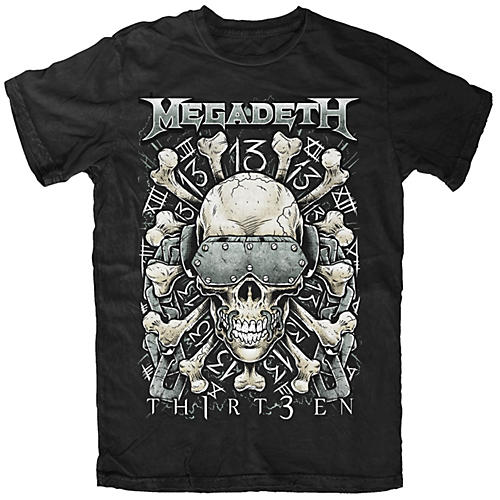 Fea Merchandising Megadeth - Red Bone T-Shirt-thumbnail