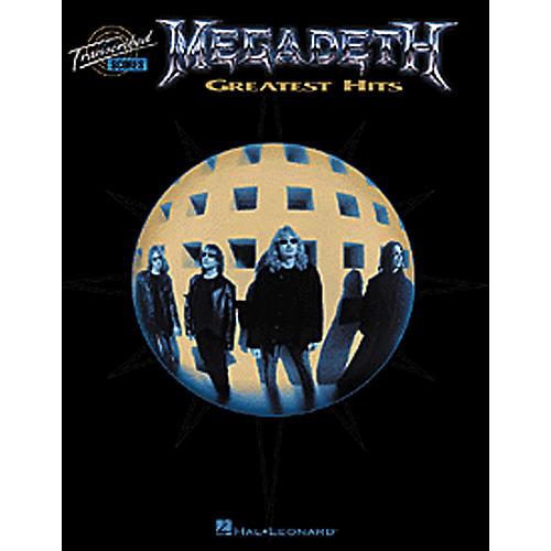 Hal Leonard Megadeth Greatest Hits Book