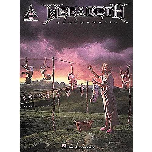 Hal Leonard Megadeth Youthanasia Guitar Tab Songbook-thumbnail