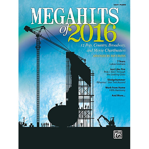 Alfred Megahits of 2016 Easy Piano Songbook