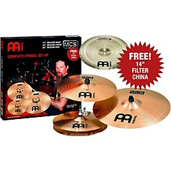 Meinl MCS Cymbal Pack with Free Filter China (MCSMF06)