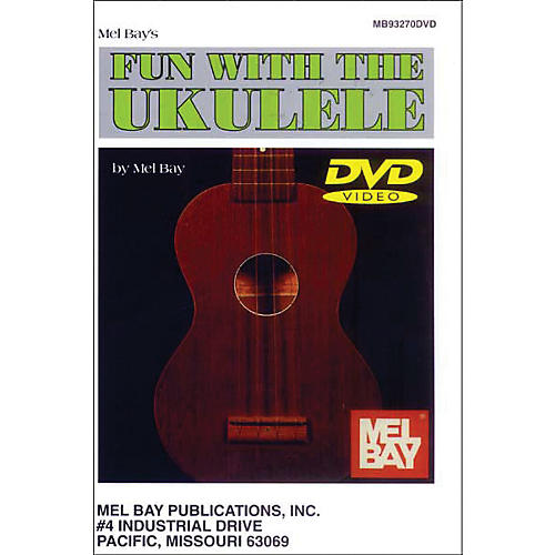 Mel Bay Mel Bay Fun with The Ukulele (DVD)-thumbnail