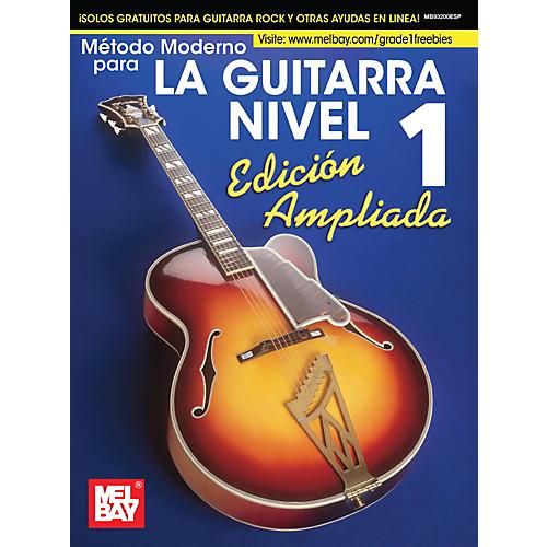 Mel Bay Mel Bay's Modern Guitar Method Grade 1, Expanded (Spanish Edition)-thumbnail