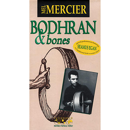Alfred Mel Mercier Bodhran and Bones Video