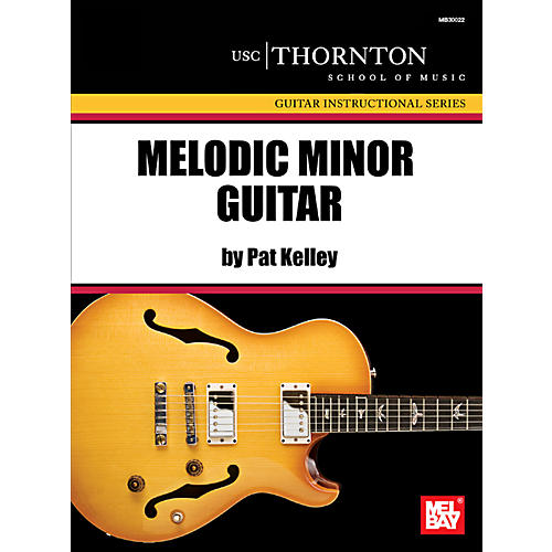 Mel Bay Melodic Minor Guitar-thumbnail