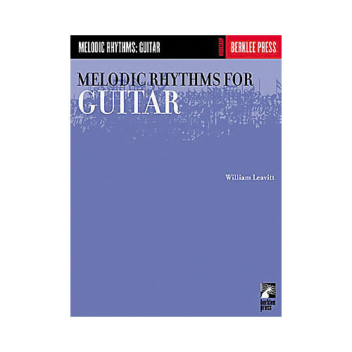 Berklee Press Melodic Rhythms for Guitar Book