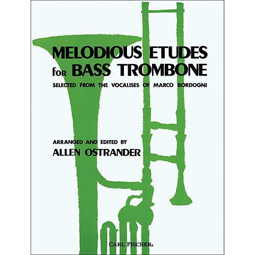 Carl Fischer Melodious Etudes for Bass Trombone-thumbnail