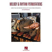 Hal Leonard Melody & Rhythm Permutations Percussion Series Softcover Written by Emil Richards