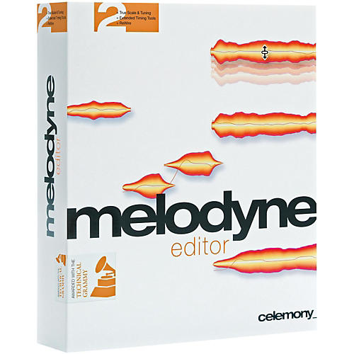 Celemony Melodyne Editor 2 Upgrade from Melodyne Essential (all versions) Software Download