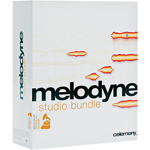 Celemony Melodyne Studio Bundle Upgrade From Melodyne Editor 2 Software Download