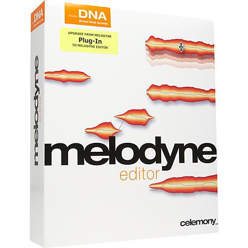 Celemony Melodyne editor Upgrade From Melodyne plugin-thumbnail