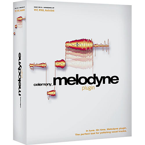 Celemony Melodyne plugin Competitive Upgrade