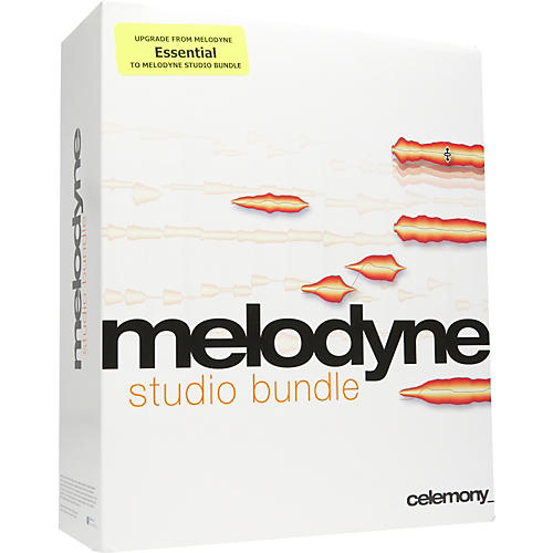 Celemony Melodyne studio bundle Upgrade From essentials Vol. 1 and 2-thumbnail