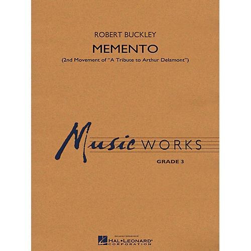 Hal Leonard Memento (2nd Mvt Of  A Tribute To Arthur Delamont) Concert Band Level 3