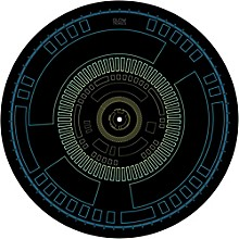 Glowtronics Memory Classic Non-glow DJ Slipmat