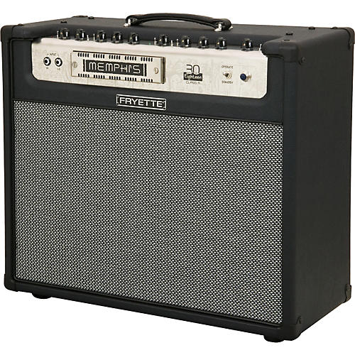 Fryette Memphis Thirty M30C 30W 1x12 Tube Guitar Combo Amp Black