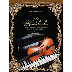 Music Minus One Mendelssohn - Double Concerto for Piano, Violin and String Or...