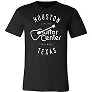 Guitar Center Mens Houston Logo Tee