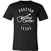 Guitar Center Mens Houston Logo Tee