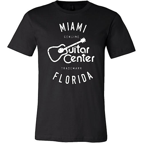 Guitar Center Mens Miami Logo Tee
