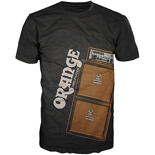 Orange Amplifiers Men's Stack T-Shirt-thumbnail