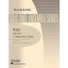 Rubank Publications Menuet from Platée (Flute Solo with Piano - Grade 2.5) Rubank Solo/Ensemble Sheet Series