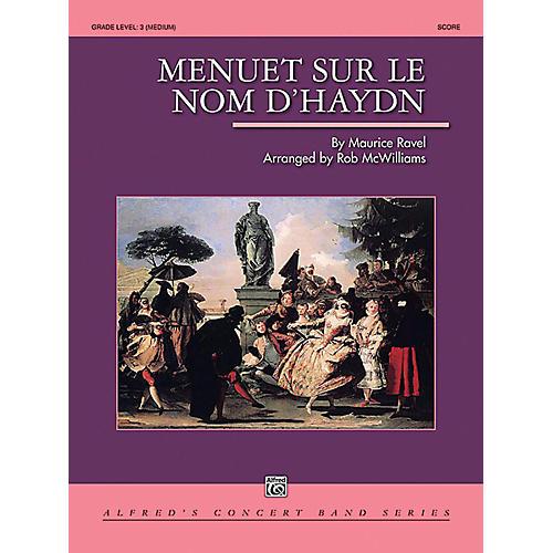 Alfred Menuet sur le nom d'Haydn Concert Band Grade 3 Set