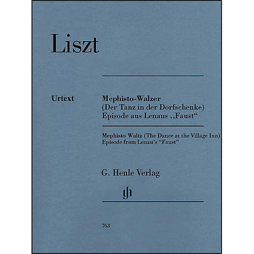 G. Henle Verlag Mephisto Waltz Piano Solo By Liszt-thumbnail