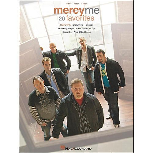 Hal Leonard MercyMe 20 Favorites Piano Vocal Guitar arranged for piano, vocal, and guitar (P/V/G)