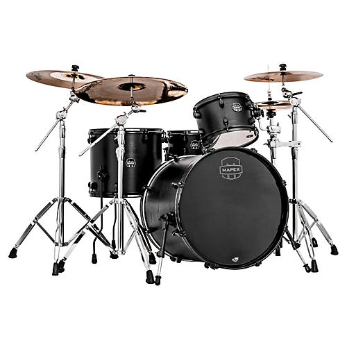Mapex Meridian Black Raven 4-Piece Shell Pack-thumbnail