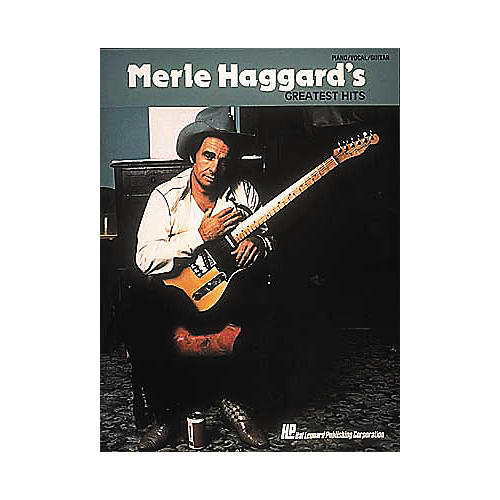 Hal Leonard Merle Haggard's Greatest Hits Piano, Vocal, Guitar Songbook-thumbnail