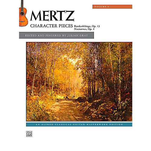 Alfred Mertz, Volume 1: Character Pieces - Book Intermediate-thumbnail