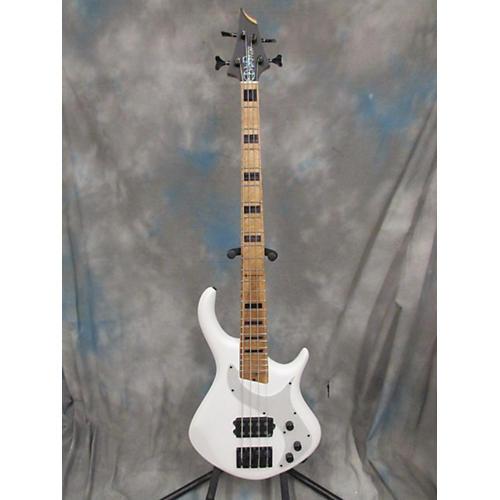 Warrior Messenger Electric Bass Guitar White