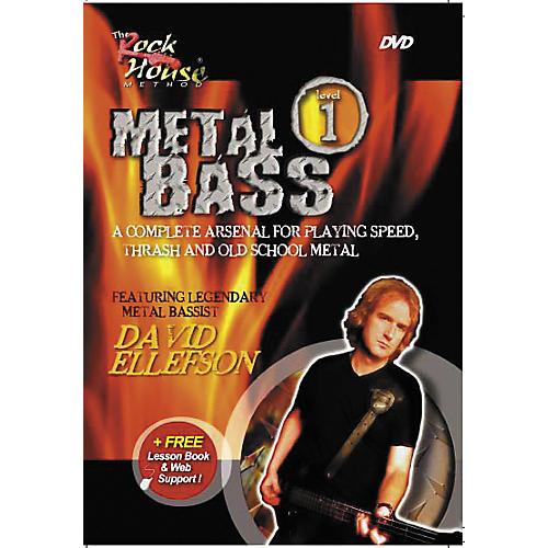 Rock House Metal Bass Level 1 Featuring David Ellefson DVD