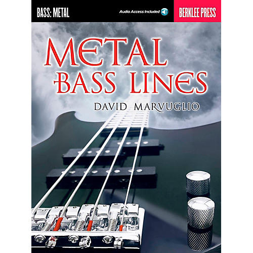 Berklee Press Metal Bass Lines - Berklee Press Book/Online Audio