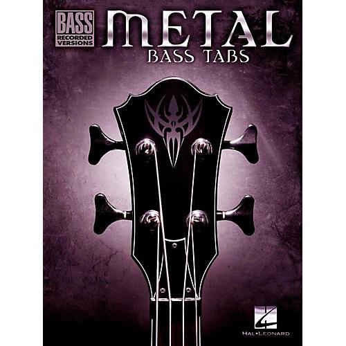 Hal Leonard Metal Bass Tabs-thumbnail