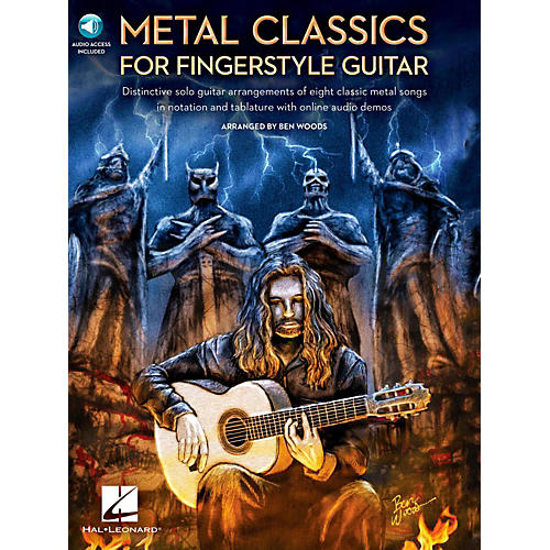 Hal Leonard Metal Classics For Fingerstyle Guitar (Book/Online Audio)-thumbnail
