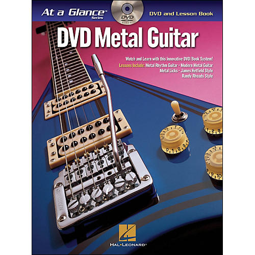 Hal Leonard Metal Guitar - At A Glance (Book/DVD)-thumbnail
