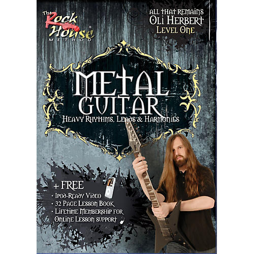 Rock House Metal Guitar- Heavy Rhythms, Leads & Harmonies Level 1 with Oli Herbert of All That Remains (DVD)-thumbnail