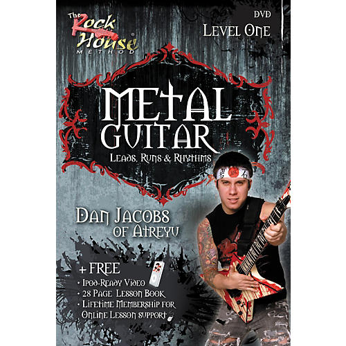 Rock House Metal Guitar with Leads, Runs & Rhythms with Dan Jacobs DVD
