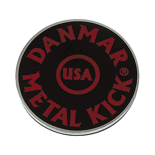 Danmar Metal Kick Bass Drum Impact Pad