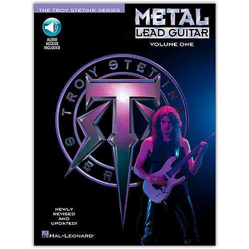 Hal Leonard Metal Lead Guitar Volume 1 (Book/CD)