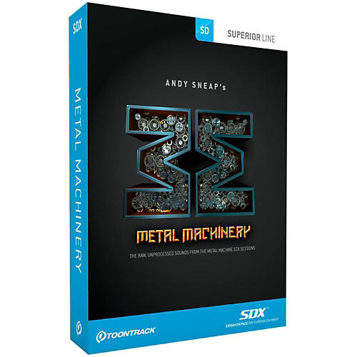 Toontrack Metal Machinery SDX-thumbnail