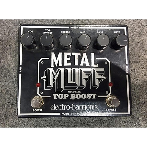 Electro-Harmonix Metal Muff Distortion Effect Pedal