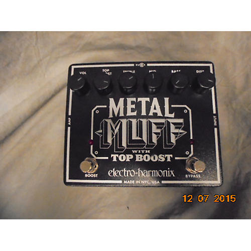 Electro-Harmonix Metal Muff Distortion With Top Boost Effect Pedal