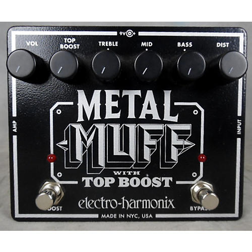 Electro-Harmonix Metal Muff Distortion With Top Boost Effect Pedal-thumbnail